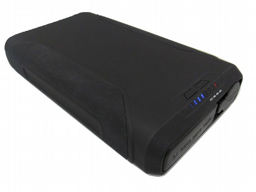 Portable Laptop Power Bank - 60000mAh 222Wh External Black Battery Pack Charger